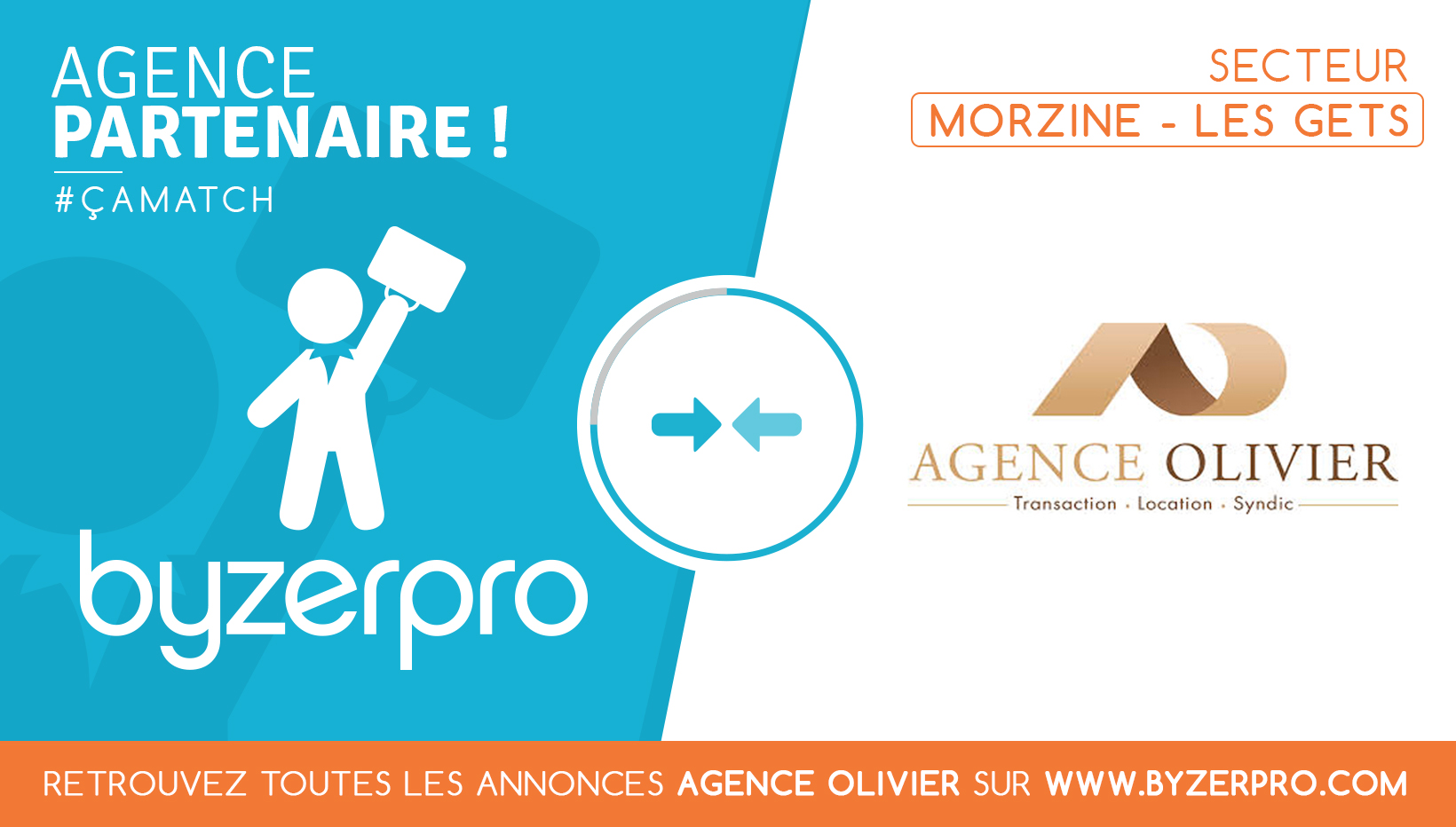 Agence Olivier, partenaire Byzerpro.com